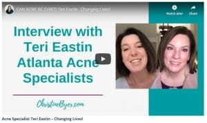 Can Acne Be Cured Interview with Christine Byer